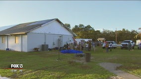 After tornado, Kathleen church reopens food pantry