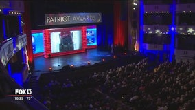 Fox Nation Patriot Awards, held in St. Pete, honors everyday heroes