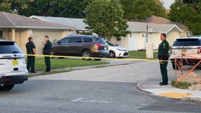 Deputies find burned car with body inside in wooded are of Pasco County