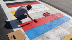 Tampa mayor unveils colorful push to get students safely from 'Crosswalks to Classrooms'