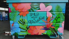 Clearwater taking an artful look at city dumpsters