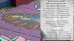 "Notes left in Bradenton neighborhood say whites ""suffered"" to ""earn white privilege"""