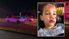 6-year-old boy released from hospital after being hit by pickup truck while trick-or-treating