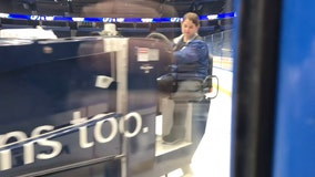 With ice in her veins and hockey in her blood, female Zamboni operator is breaking barriers