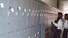 In wake of deadly Saugus shooting students in Pasadena write words of encouragement on every locker