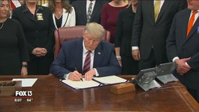 Sarasota lawmaker's felony animal abuse bill signed into law by President Trump