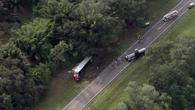 Deadly truck crash closes U.S. 98 outside Zephyrhills
