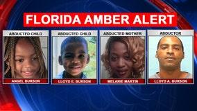 Titusville children at center of Amber Alert found safe, police say