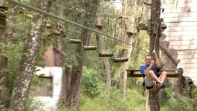 Fly through the forest at this Dade City adventure park