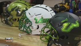 USF Bulls test the future of football helmet safety