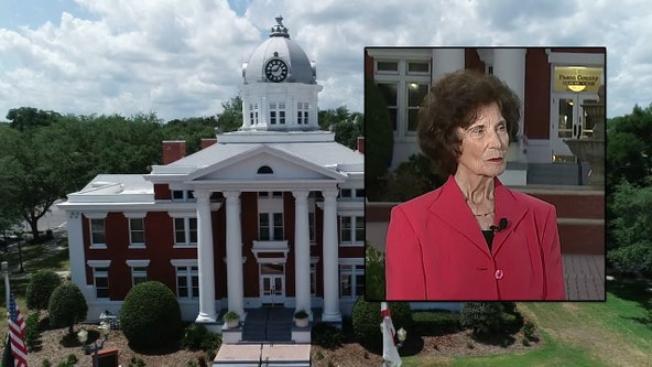 Sylvia Young spearheaded efforts to save historic courthouse