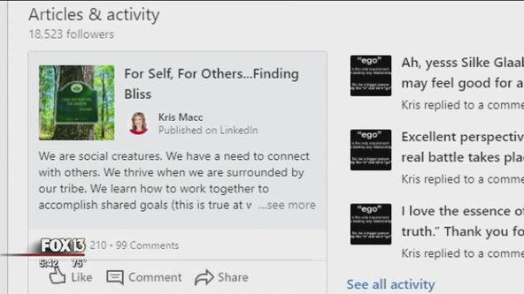 LinkedIn helping business women grow meaningful online networks