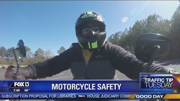 Traffic Tip Tuesday: Motorcycle safety