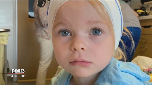 Praying for a cure: Genetic test uncovers Florida girl's extremely rare disorder