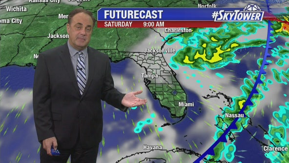Wednesday evening weathercast