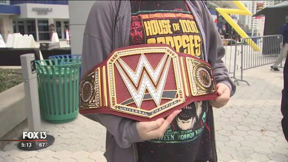 Wrestlemania ticket sale party kicks off in Tampa