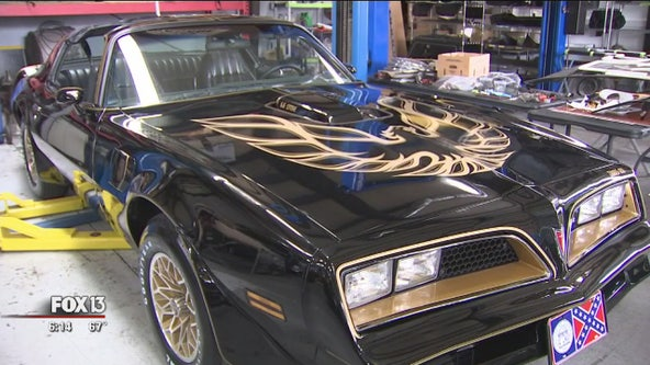 Burt Reynolds' Trans Am is the star of all star cars