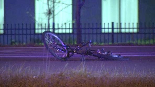 Driver of white pickup truck fatally struck bicyclist in Tampa and fled, troopers say