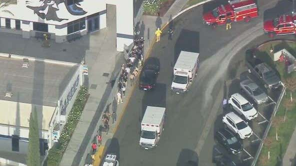 At least 7 hurt, suspect sought in Southern California high school shooting