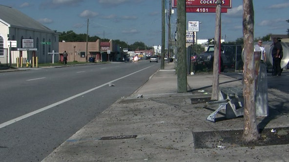 Crash sends van into Tampa bus stop; 4 teenage students hurt