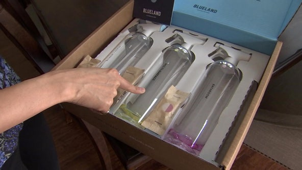 Mom creates Blueland cleaning products to save space, money, and the environment
