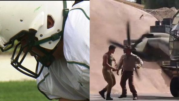 Former USF football player tackles performing roles at theme parks