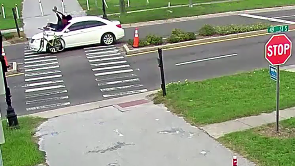 Police search for hit-and-run driver who struck bicyclist in St. Petersburg