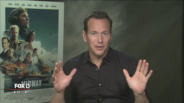 Tampa Bay's own Patrick Wilson discusses 'Midway' - FOX 13 Tampa Bay
