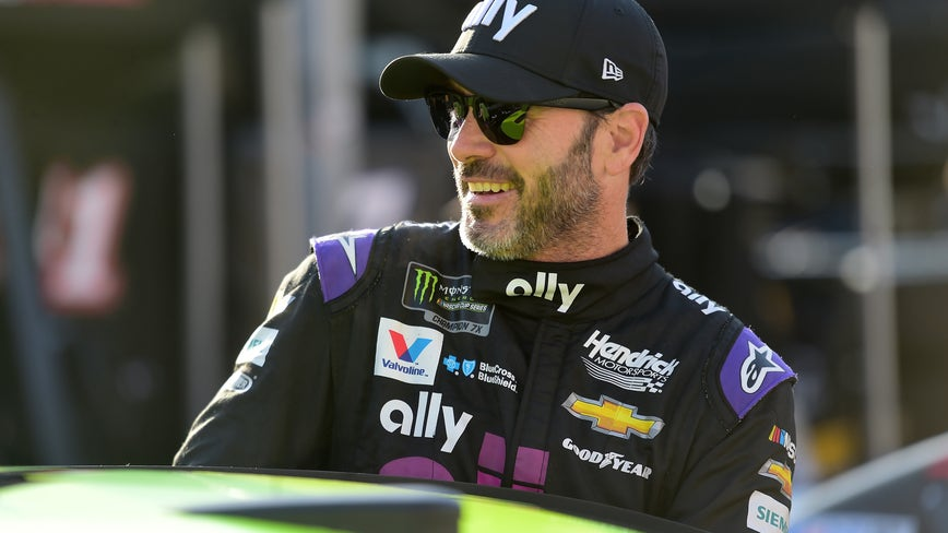 Jimmie Johnson first NASCAR driver to test positive for COVID-19