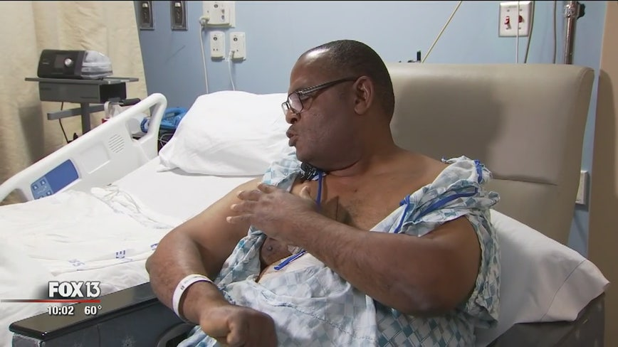 HART driver recovering after passenger attacks