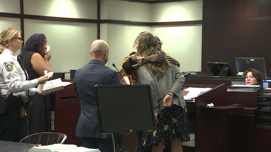 Driver in deadly DUI crash forgiven by victim's family at sentencing