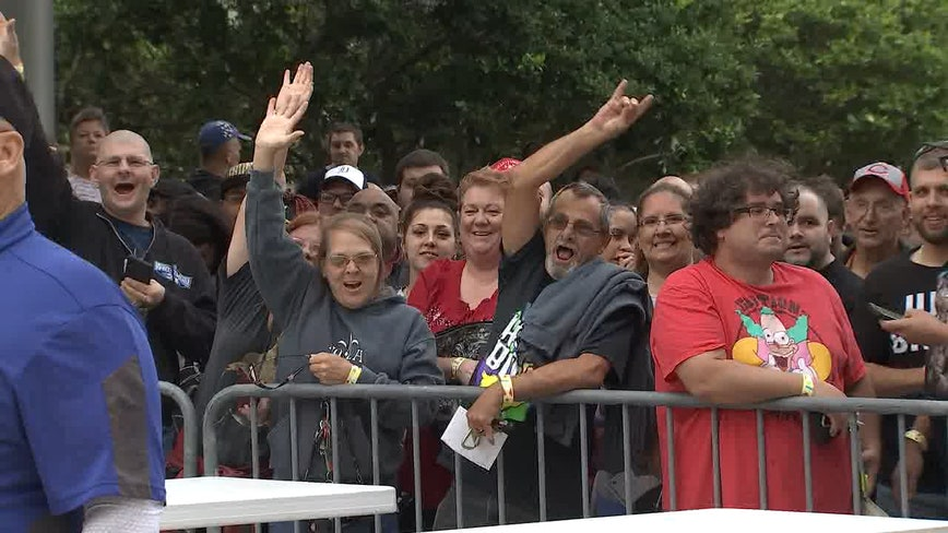 WWE fans pack Thunder Alley for WrestleMania pre-sale event