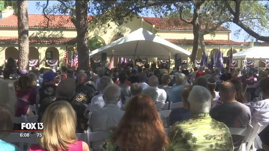 Bay Pines Veterans Day largest ceremony in the region