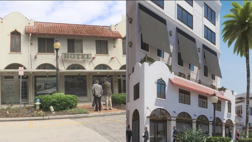 DeMarcay Hotel, Roth Cigar Factory to be preserved, developed at the same time