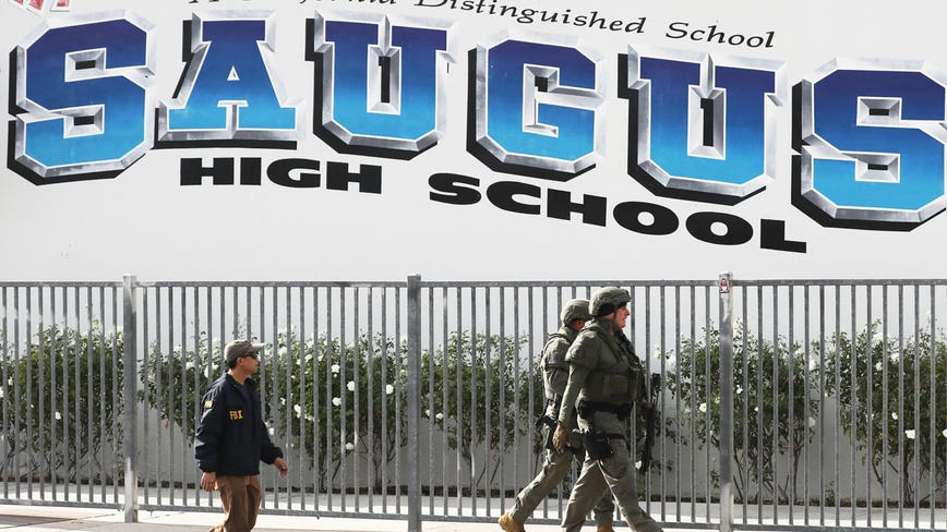 Police say 16-year-old boy who shot five students at his Los Angeles-area high school has died