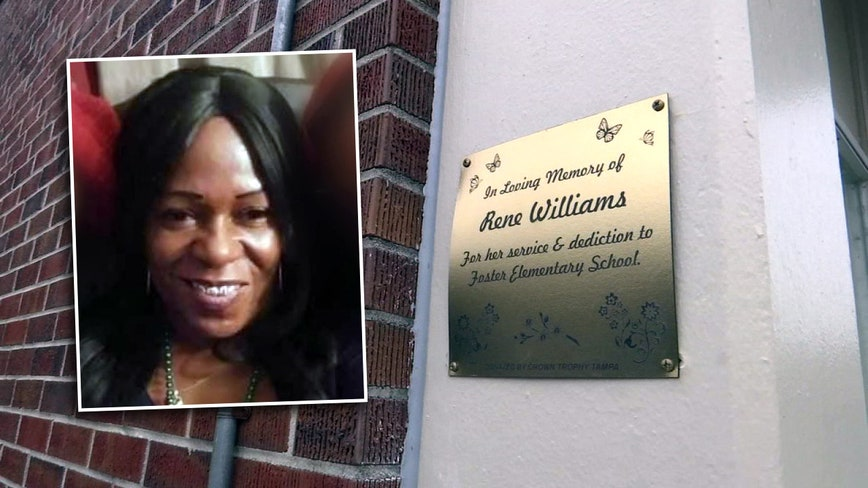 School pauses to remember aide who spent her life helping others