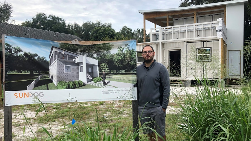 Work halts, lawsuits pile up for company building container homes in Tampa