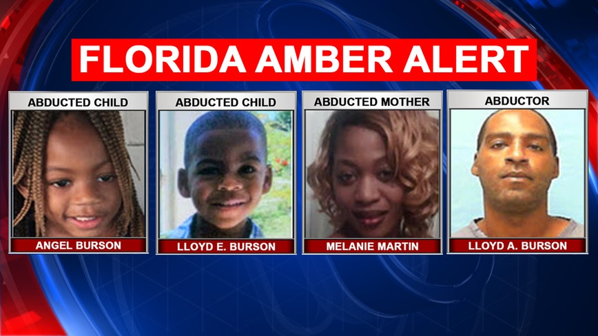 Amber Alert: 'Armed and dangerous' Florida father abducts his 2 children, their mother, police say