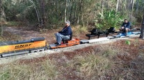 Come aboard a train with the Central Pasco & Gulf Railroad