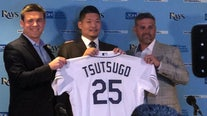 Rays complete deal with Japanese slugger Tsutsugo