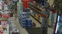 Man gets locked in Polk gas station while trying to steal Pepsi