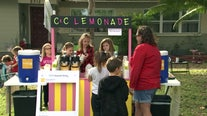From lemonade to hot chocolate, girl's mission remains the same