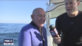 Divers explain memorial's significance