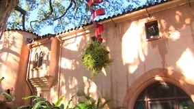Bok Tower Gardens transforms into a holiday wonderland