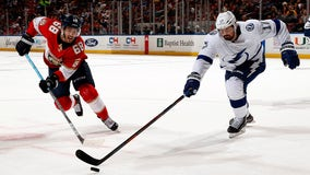 Stamkos, Vasilevskiy lead Lightning over Panthers