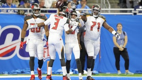 Winston throws 4 TDs as Buccaneers beat Lions 38-17