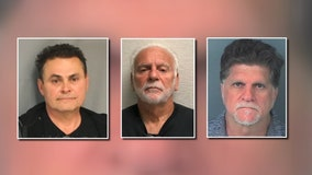 Criminal trio arrested after decades of heists, stealing tens of millions in jewelry and cash