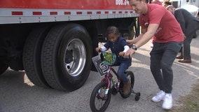 Tampa non-profit donates hundreds of bikes to at-risk kids