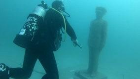 Veterans are honored through unique underwater memorial off Pinellas County
