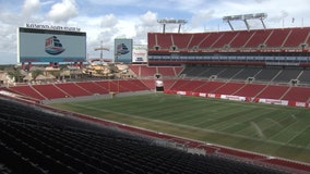 Raymond James Stadium selected as early voting site